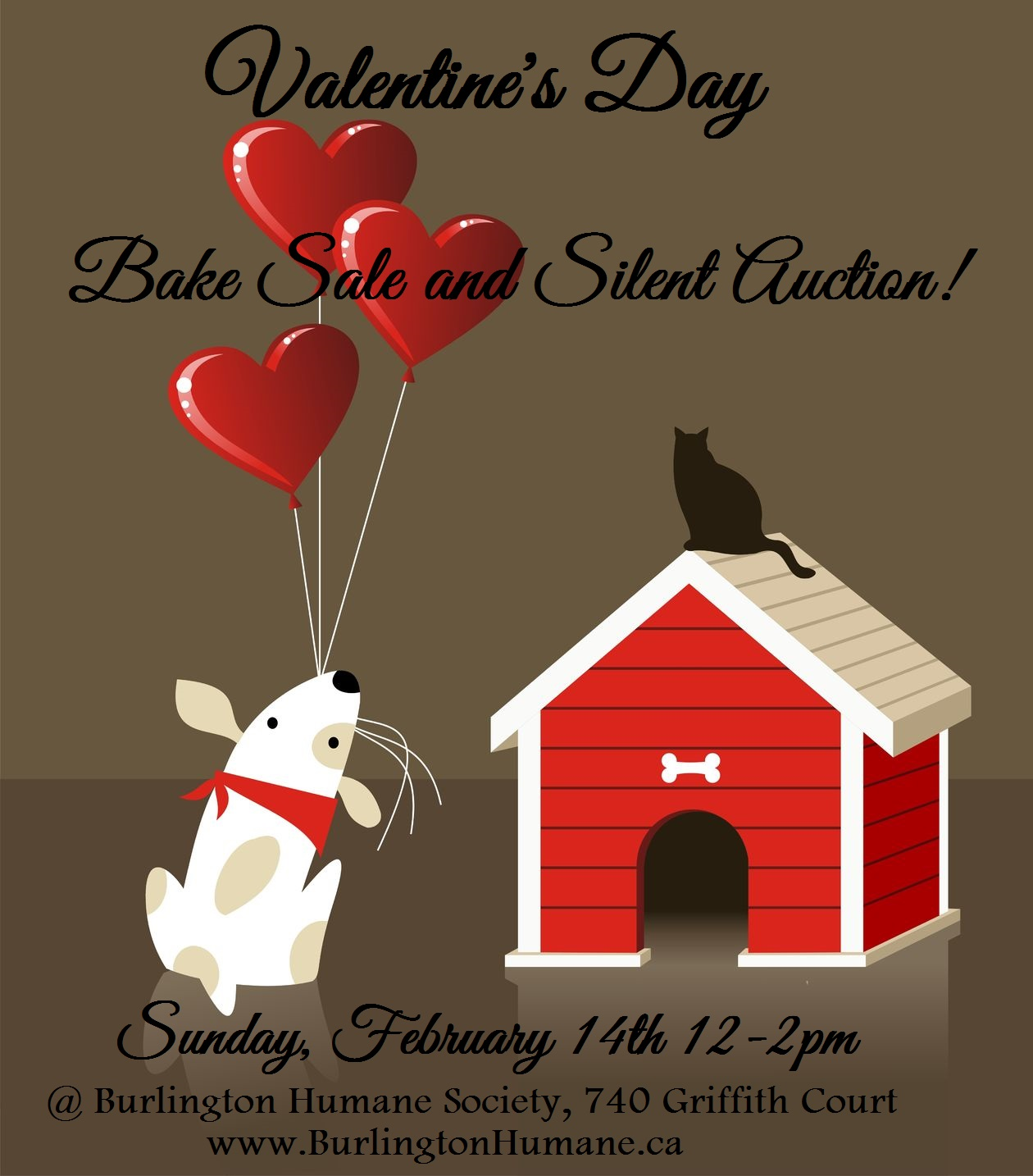 Burlington Humane Society Valentine S Day Bake Sale And Silent Auction