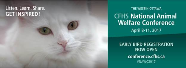 CFHS National Animal Welfare Conference Banner