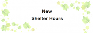 New Shelter Hours01