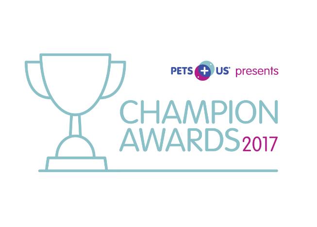 Pets Plus Us Champion Awards 2017
